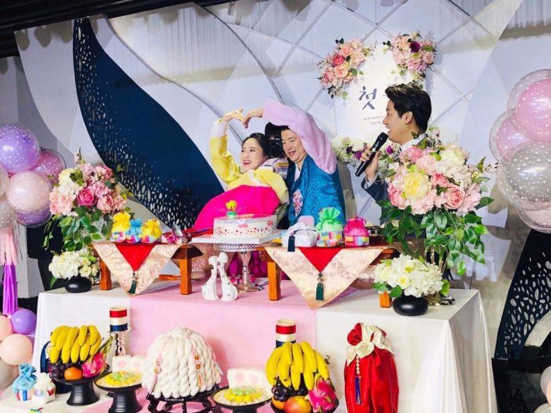 婚礼堂发布:6000平!4大主题宴会厅,浓郁韩式婚礼风  第18张