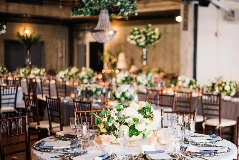 架构花艺在婚礼空间上的应用