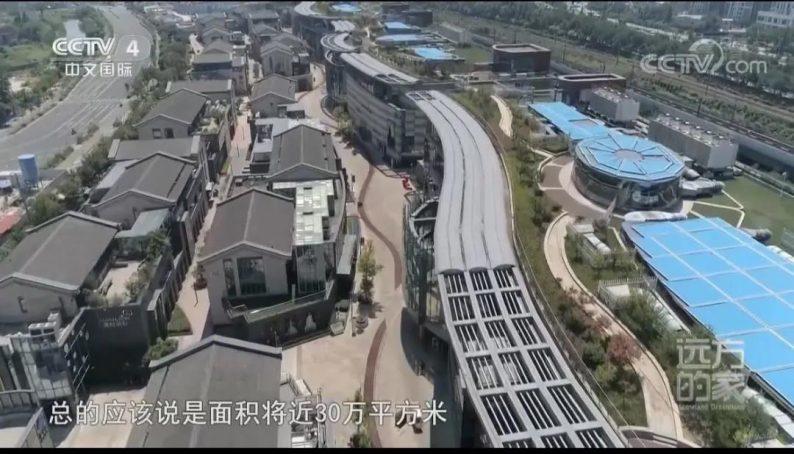 央视四套走进中国最大婚纱城!  第4张
