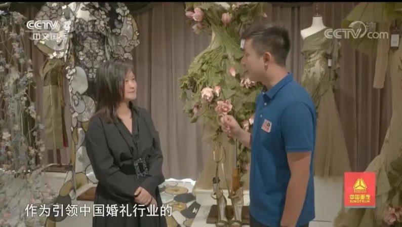 央视四套走进中国最大婚纱城!  第14张