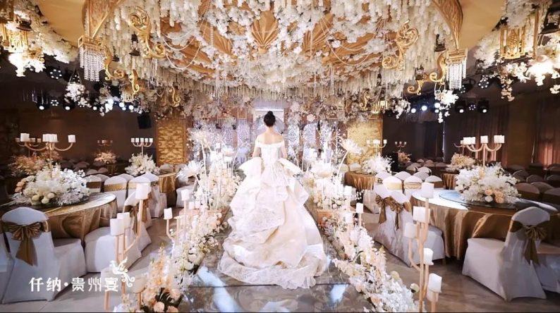 婚礼堂发布:20年餐饮老牌,仟纳集团打造7大主题宴会厅  第10张