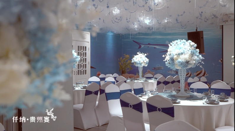 婚礼堂发布:20年餐饮老牌,仟纳集团打造7大主题宴会厅  第16张