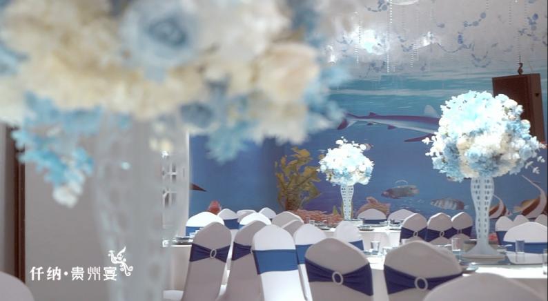 婚礼堂发布:20年餐饮老牌,仟纳集团打造7大主题宴会厅  第17张