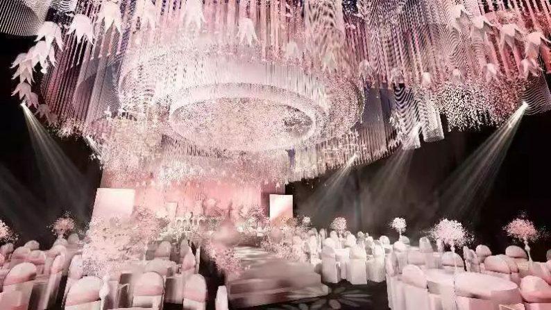 婚礼堂发布:全新风格宴会厅,备受新人瞩目  第12张