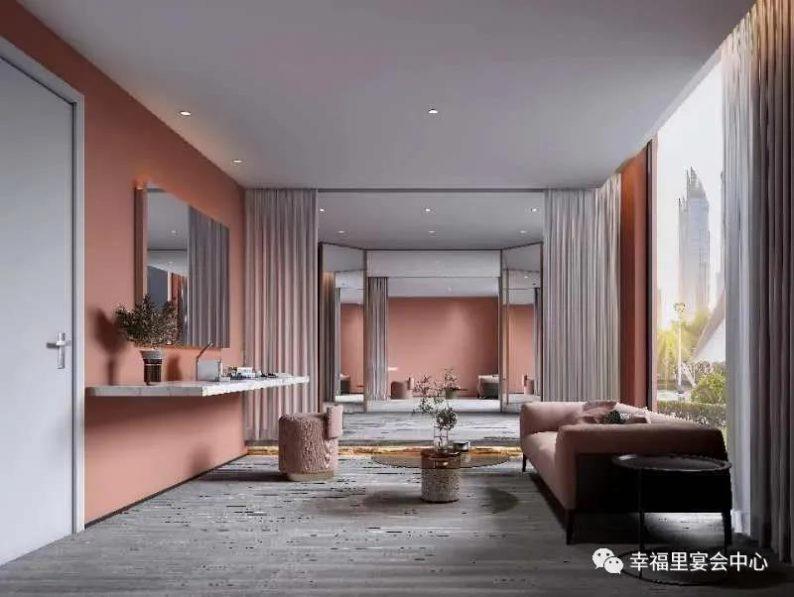 婚礼堂发布:幸福里宴会中心,打造1000平轻奢花园式宴会厅  第5张