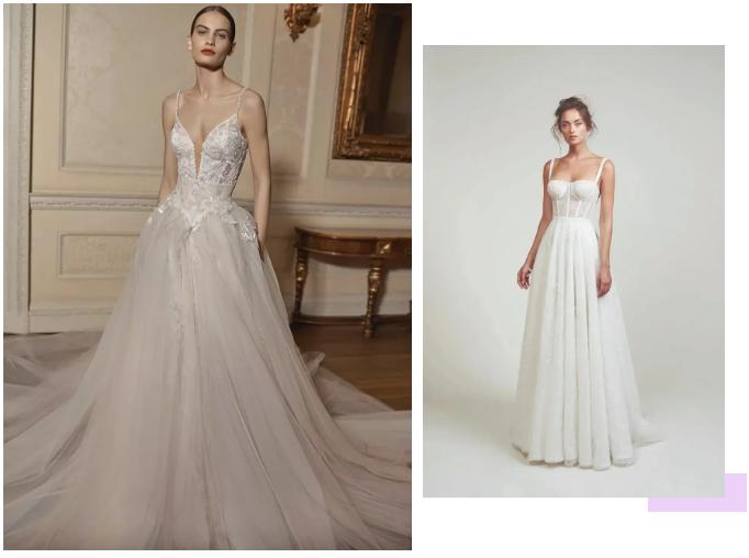 纽约新娘时装周:2021年秋冬婚纱最新系列  第4张