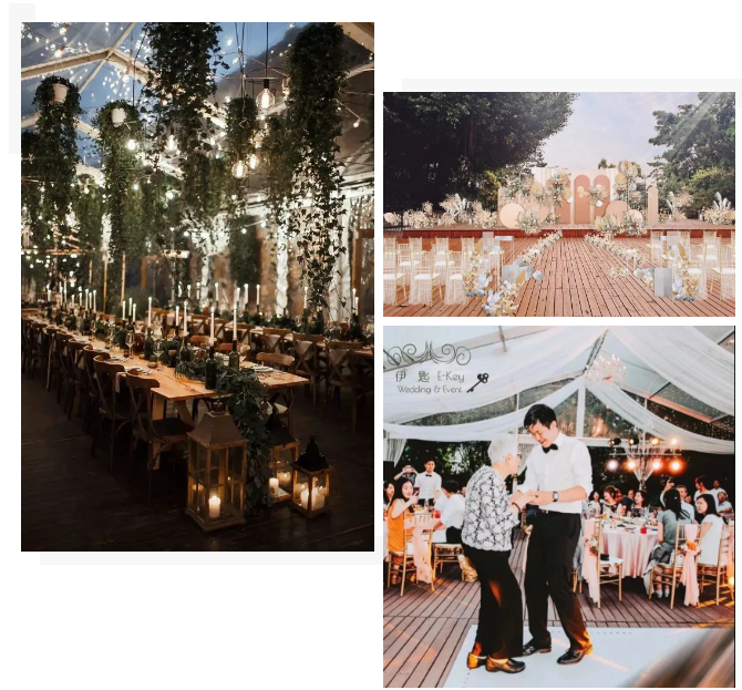 婚礼堂发布:半山秘境中的婚礼伊甸园  第5张