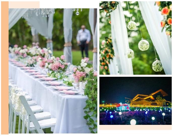 """婚礼堂发布:""""宴会+公园+街区"""",斥资3千万、6大主题厅即将启幕  第3张"""