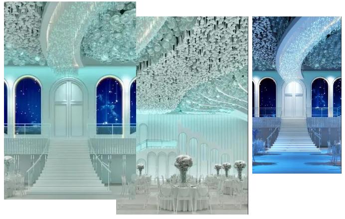 婚礼堂发布:斥资过亿!11个主题厅,又一艘宴会巨舰即将起航  第8张