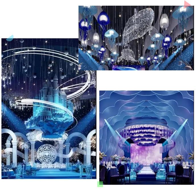 婚礼堂发布:斥资过亿!11个主题厅,又一艘宴会巨舰即将起航  第19张