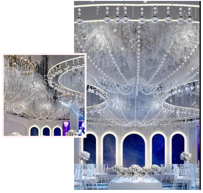 婚礼堂发布:斥资过亿!11个主题厅,又一艘宴会巨舰即将起航  第21张