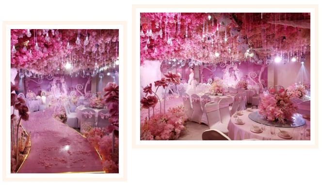 婚礼堂发布:20年餐饮老牌,仟纳集团打造7大主题宴会厅  第20张