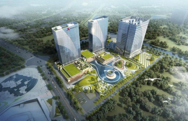 婚礼堂发布:总投资8亿、4.5万平!福州万豪酒店正式营业  第7张