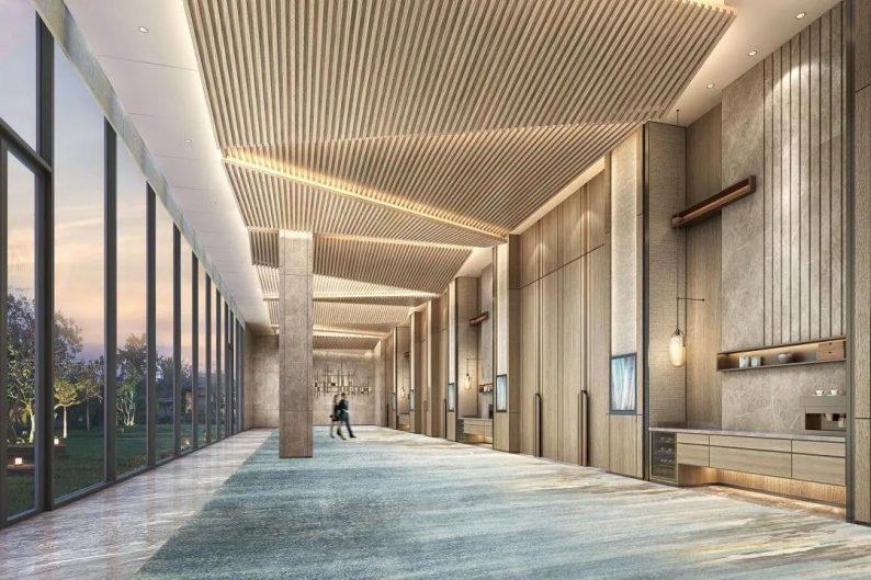 婚礼堂发布:总投资8亿、4.5万平!福州万豪酒店正式营业  第15张