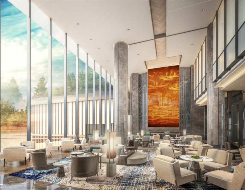 婚礼堂发布:总投资8亿、4.5万平!福州万豪酒店正式营业  第19张