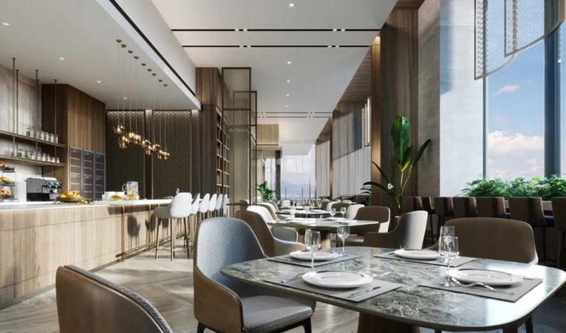 婚礼堂发布:总投资8亿、4.5万平!福州万豪酒店正式营业  第21张
