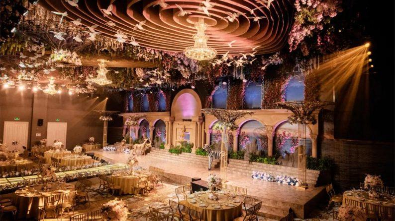 """婚礼堂发布:5大百万级宴会厅!""""婚嫁+商业地产""""的完美融合  第3张"""
