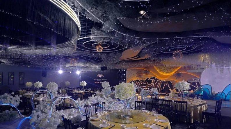 """婚礼堂发布:5大百万级宴会厅!""""婚嫁+商业地产""""的完美融合  第9张"""