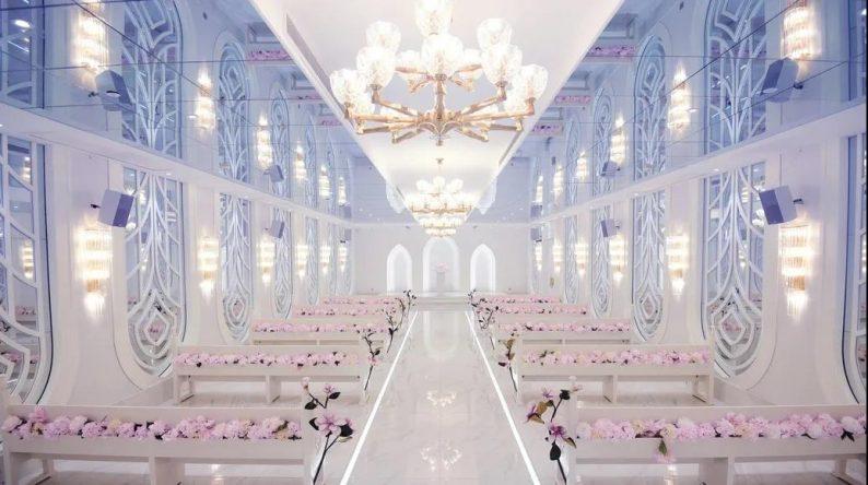 """婚礼堂发布:5大百万级宴会厅!""""婚嫁+商业地产""""的完美融合  第10张"""