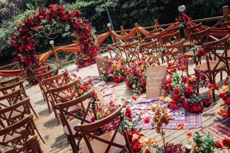 花漾婚礼堂:岛城首个湖畔&木屋婚礼场地  第15张
