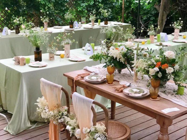 花漾婚礼堂:岛城首个湖畔&木屋婚礼场地  第23张