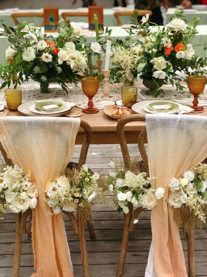 花漾婚礼堂:岛城首个湖畔&木屋婚礼场地  第24张
