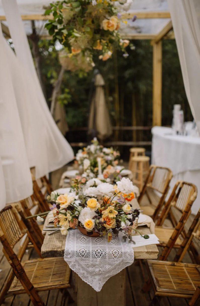 花漾婚礼堂:岛城首个湖畔&木屋婚礼场地  第25张