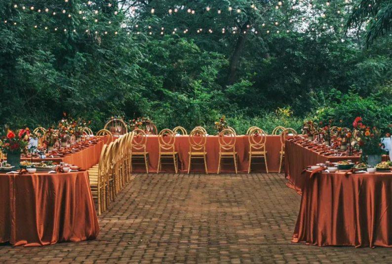 花漾婚礼堂:岛城首个湖畔&木屋婚礼场地  第26张