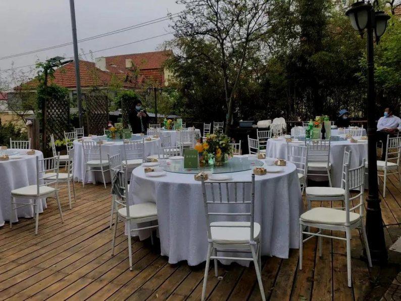 花漾婚礼堂:岛城首个湖畔&木屋婚礼场地  第29张