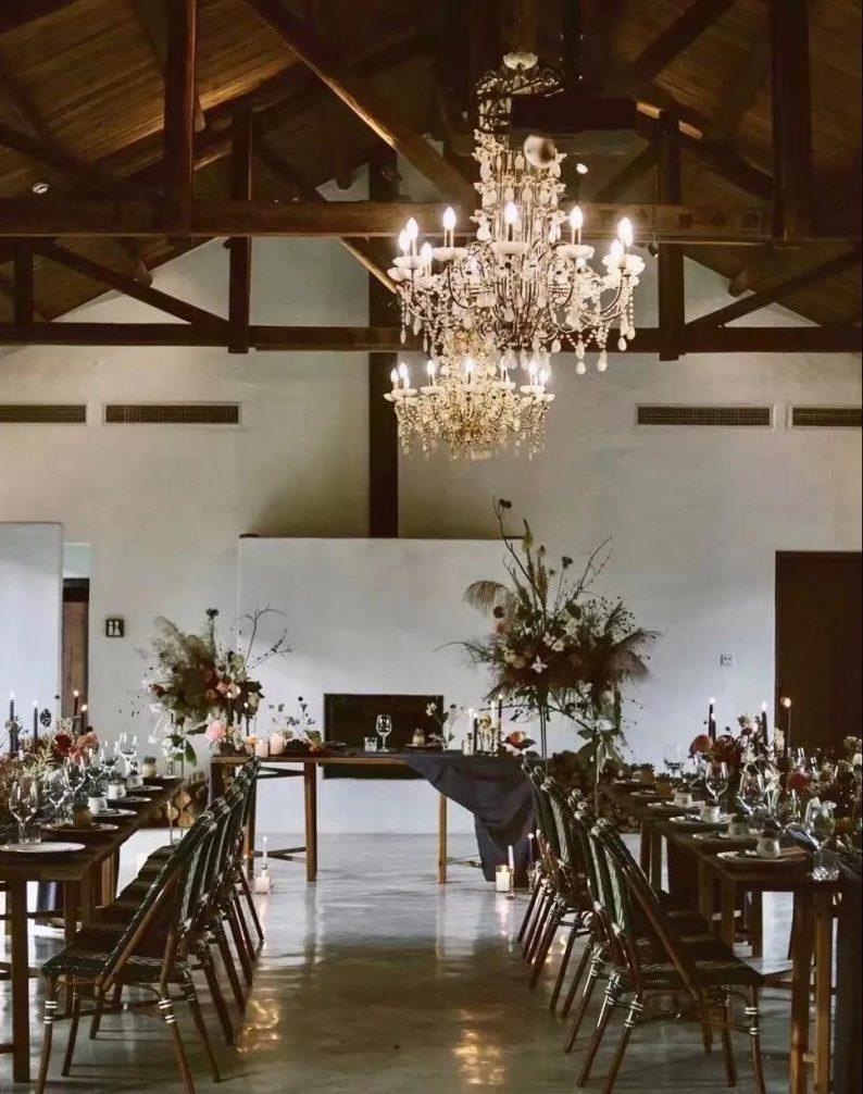 花漾婚礼堂:岛城首个湖畔&木屋婚礼场地  第32张