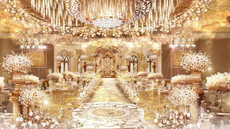 婚礼堂发布:3大主题宴会厅,嘉禧盛宴即将开业  第3张