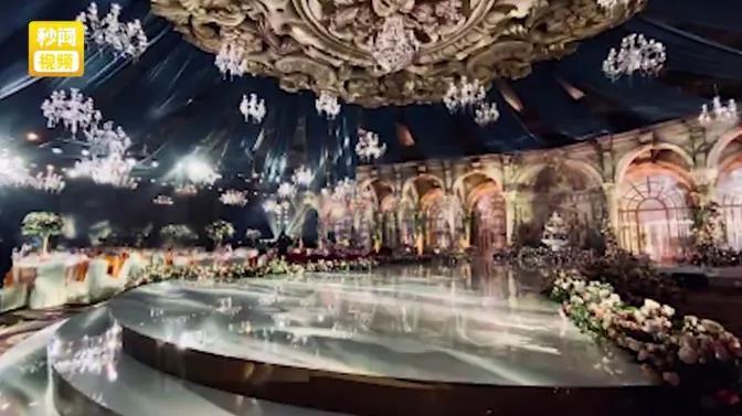 6.8w一桌、婚宴上亿!广东惊现豪华婚礼  第1张
