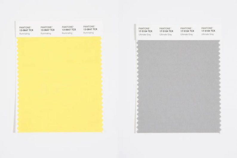 潘通发布!2021年年度双流行色:亮丽黄和极致灰  第5张