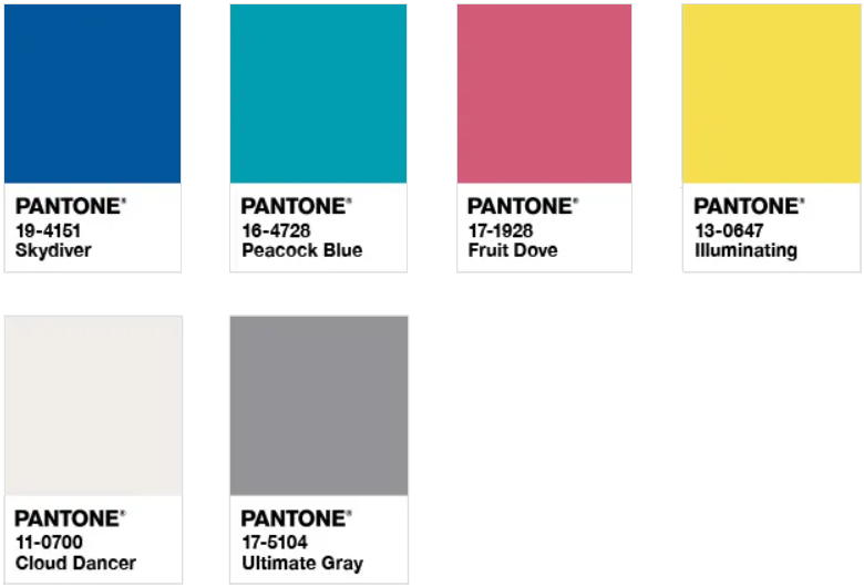 潘通发布!2021年年度双流行色:亮丽黄和极致灰  第7张