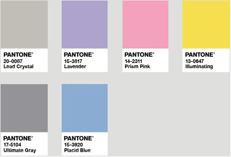潘通发布!2021年年度双流行色:亮丽黄和极致灰  第9张