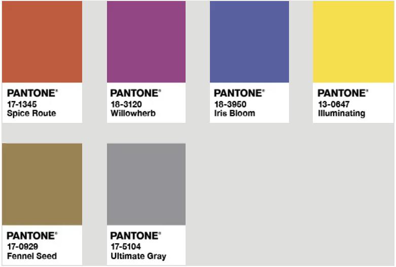 潘通发布!2021年年度双流行色:亮丽黄和极致灰  第11张