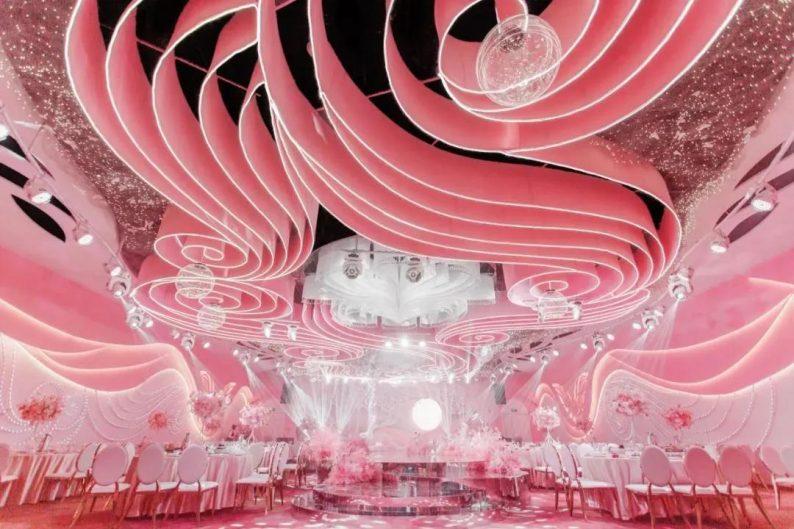 婚礼堂发布:三大主题宴会厅!晋城屈指可数的一站式宴会酒店  第6张