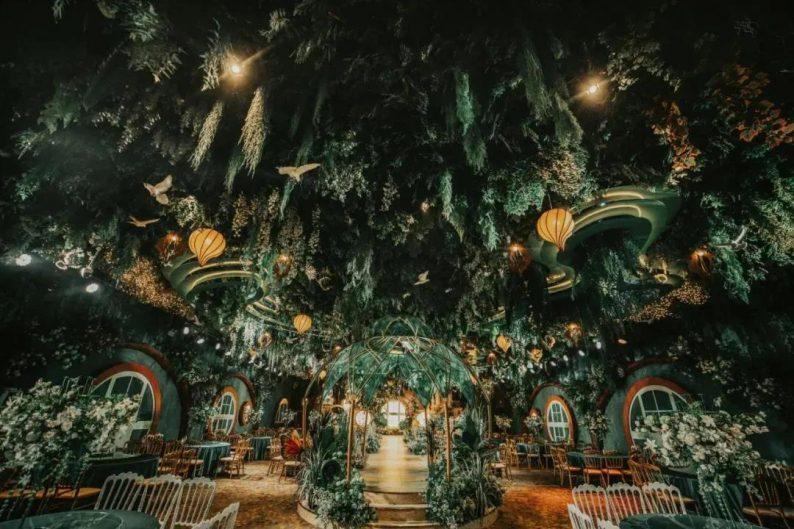 婚礼堂发布:三大主题宴会厅!晋城屈指可数的一站式宴会酒店  第9张