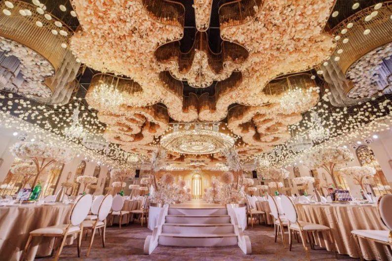 婚礼堂发布:三大主题宴会厅!晋城屈指可数的一站式宴会酒店  第1张