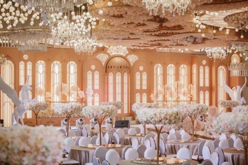 婚礼堂发布:三大主题宴会厅!晋城屈指可数的一站式宴会酒店  第16张