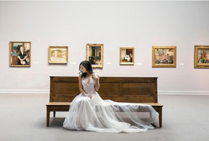 """展览+婚宴,美术馆里的""""奇妙婚礼""""!  第5张"""
