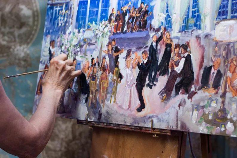 """展览+婚宴,美术馆里的""""奇妙婚礼""""!  第10张"""