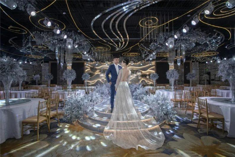 """婚礼堂发布:灌南世纪缘宴会厅""""水晶之恋"""",璀璨揭幕!  第7张"""