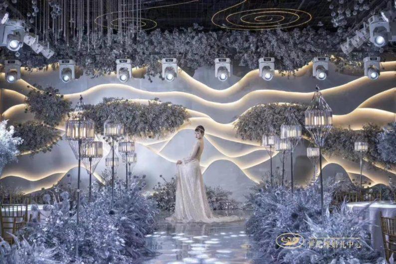 """婚礼堂发布:灌南世纪缘宴会厅""""水晶之恋"""",璀璨揭幕!  第8张"""