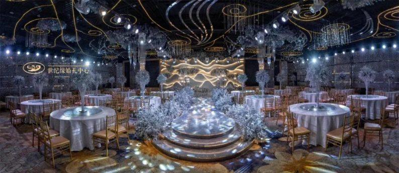 """婚礼堂发布:灌南世纪缘宴会厅""""水晶之恋"""",璀璨揭幕!  第10张"""