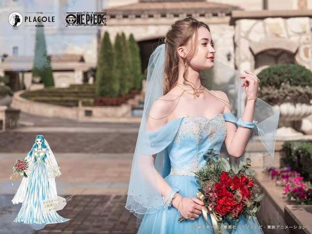 海贼王出联名婚纱了!日本婚庆公司PLACOLE发布  第2张