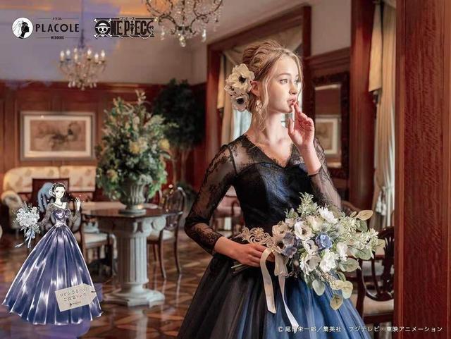 海贼王出联名婚纱了!日本婚庆公司PLACOLE发布  第4张