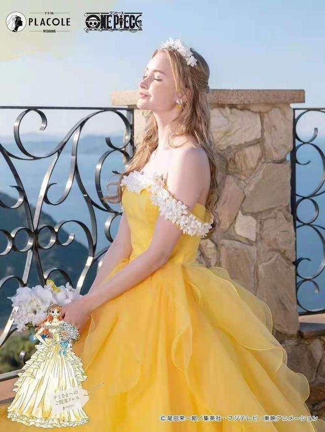 海贼王出联名婚纱了!日本婚庆公司PLACOLE发布  第5张