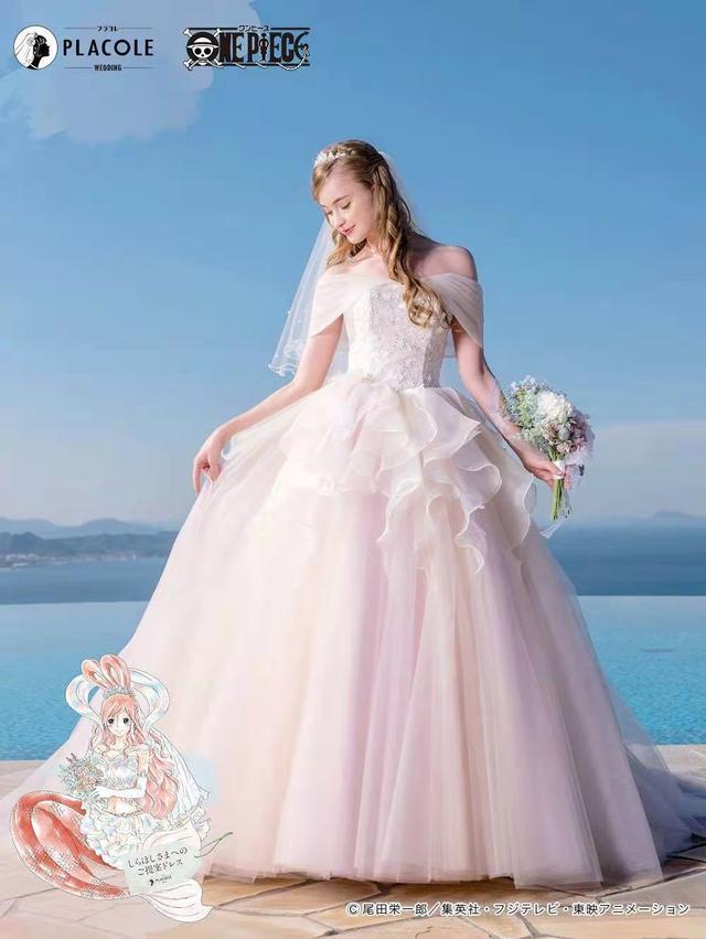 海贼王出联名婚纱了!日本婚庆公司PLACOLE发布  第6张