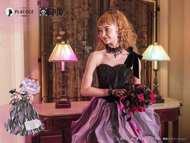 海贼王出联名婚纱了!日本婚庆公司PLACOLE发布  第7张